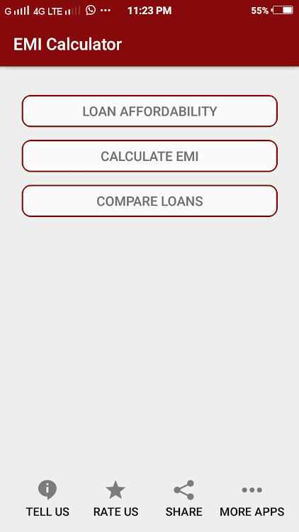 Emi Calculator Home Car Personal Loan Android Apps Appagg