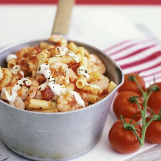 Shrimp and Tomato Macaroni
