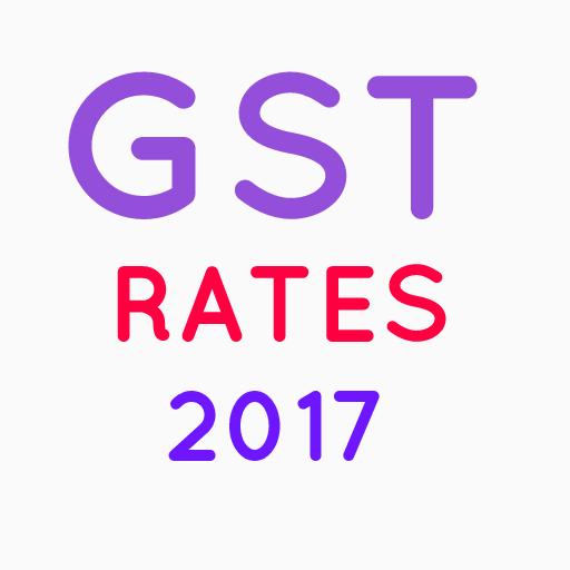 GST Rates -2017