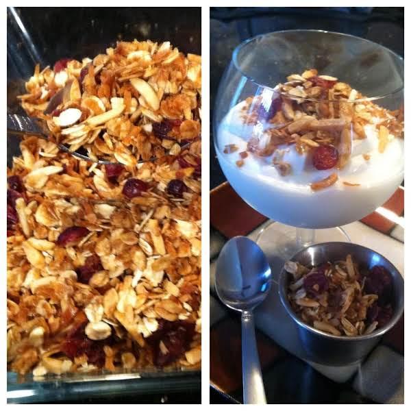 Easy Coconut-cranberry Granola
