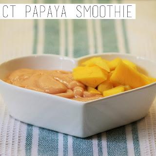Perfect Papaya Smoothie.