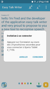 Easy Talk Writer (sourds & malentendants) Capture d'écran