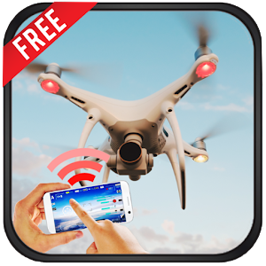 Quadcopter Drone Remote Control For All Drones 1.0 by AppZeeInc logo