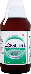 Corsodyl Mouthwash - 300ml, Mint