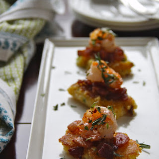 Shrimp and Grit Squares