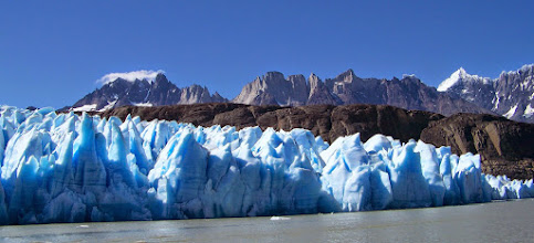 Photo: On Day 7, our ferry provided a tour of the west lobe of Glacier Grey
