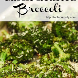 Healthy Side Dish-Garlic Roasted Broccoli Recipe
