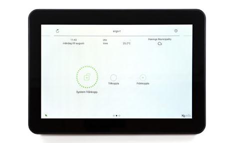 Touchmanöverpanel ergo-T pro