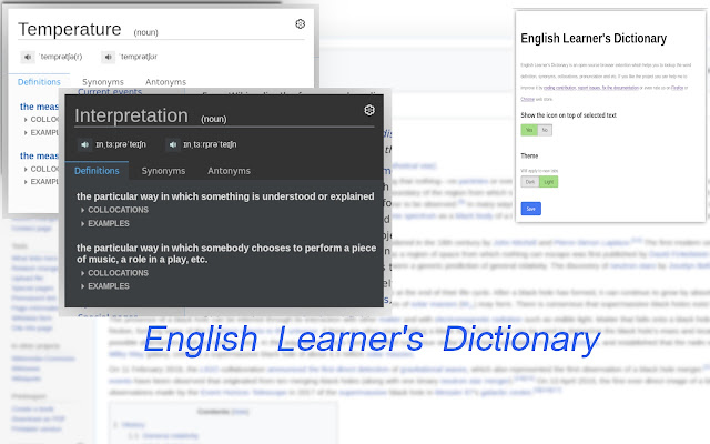 English Learner's Dictionary
