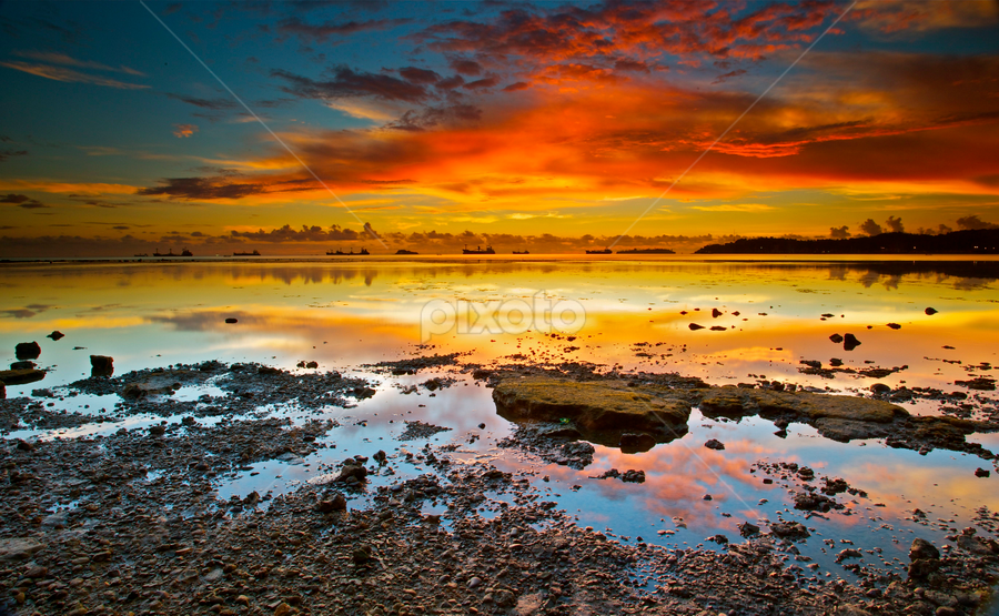 Beautiful Teluk Bayur by Hengkie Kastono - Landscapes Waterscapes