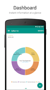 Accounting App - Zoho Books- screenshot thumbnail