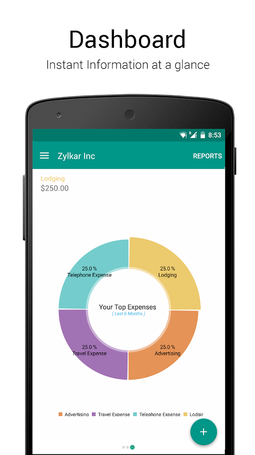 Accounting App - Zoho Books- screenshot