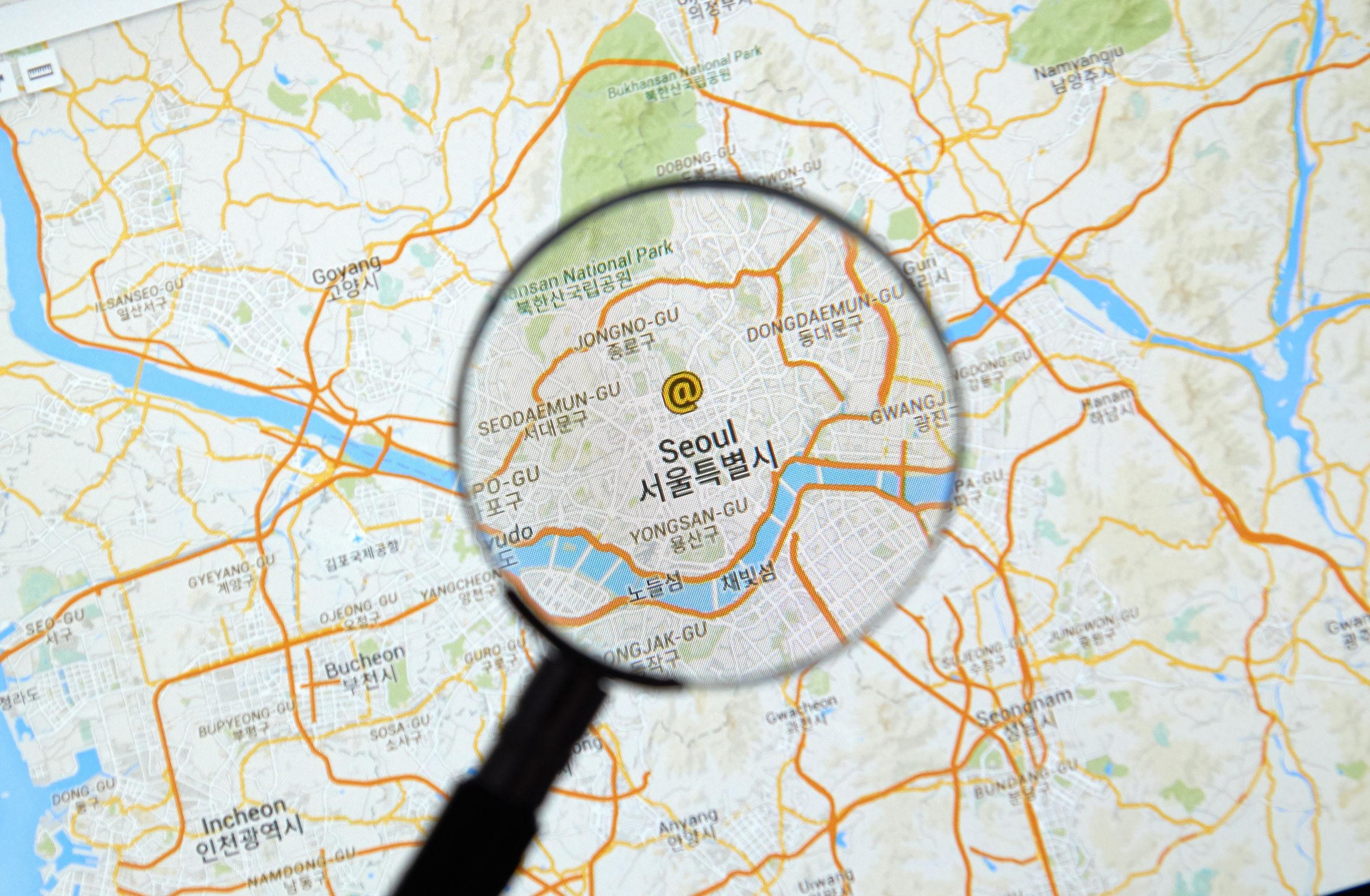 korean-googlemaps