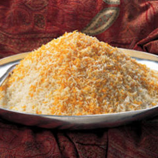 Saffron Steamed Plain Basmati Rice (Chelow)