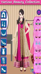 Indian Doll Makeup and Dressup - náhled