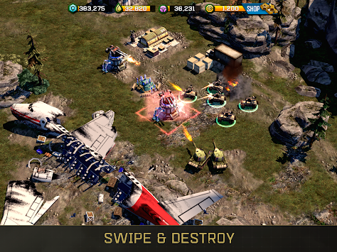 Perang Komander: Rogue Assault APK screenshot thumbnail 1