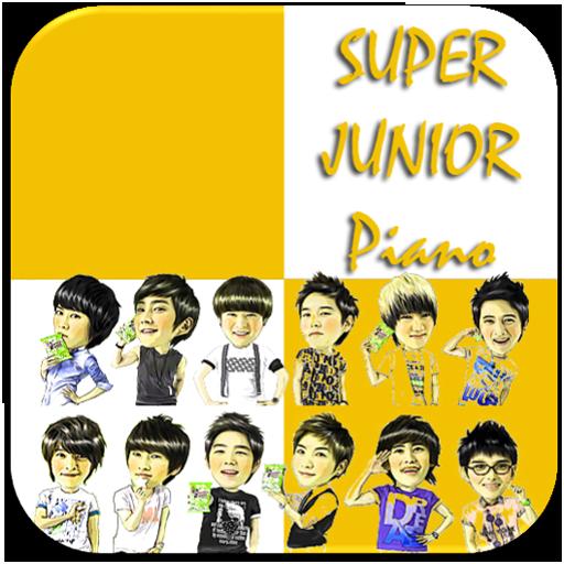 Super Junior Piano Tiles 音樂 App LOGO-APP開箱王