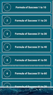 Formula of Success - náhled