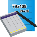 Cutting Paper Calculator icon