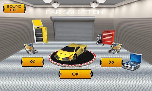賽車模擬器駕駛 - Car Racing