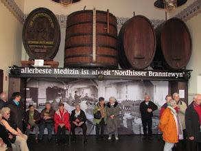 Photo: Im Kontor der Nordhäuser Traditionsbrennerei