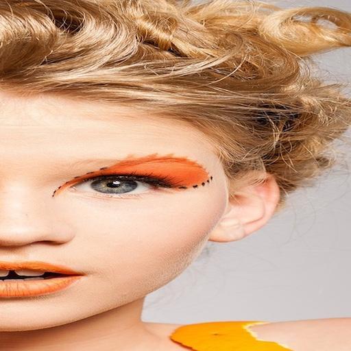 Maquillaje de ojos bonitos. 遊戲 App LOGO-APP開箱王