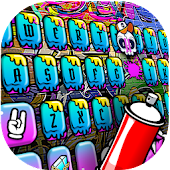 Party Graffiti Exquisite Keyboard Theme