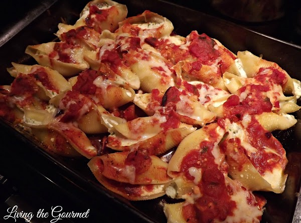 """""""unique"""" Stuffed Shells And Tomato Sauce Recipe"""
