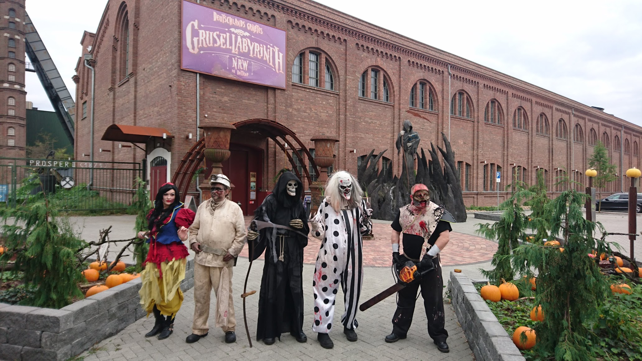 Grusellabyrinth NRW Bottrop Horror Halloween