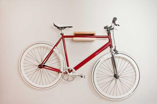 Hanging Bikes Garage Ideas