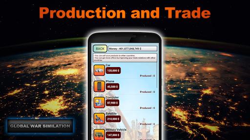 Télécharger Gratuit Global War Simulation WW2 Strategy War Game APK MOD (Astuce) screenshots 3