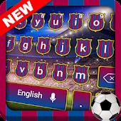 Download Barcelona Football Keyboard Free