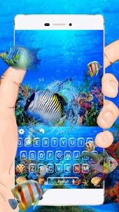 Akvárium Klávesnice Téma - náhled