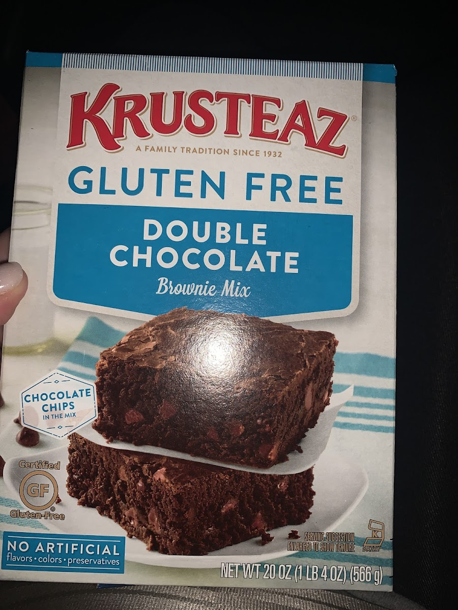 Double Chockate Brownie Mix