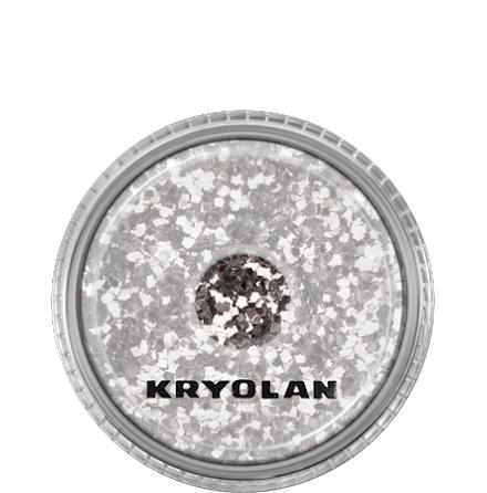 Kryolan Kroppsglitter, Silver