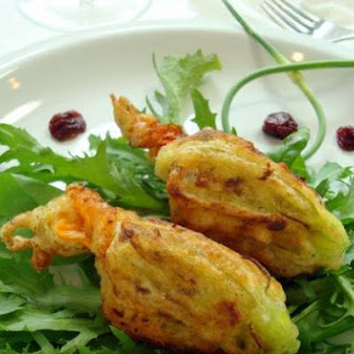 Market Stuffed Squash Blossoms