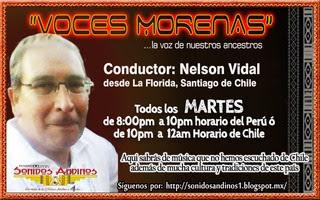 Martes: Voces Morenas