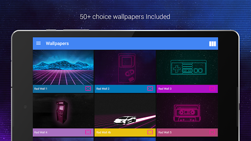 Screenshot for Rad Pack - 80's Theme (Pro Version) in United States Play Store