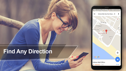 Navigation Voice Route Directions & GPS Maps 1.0 screenshots 1