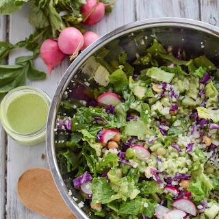 Green Cauliflower Rice Salad