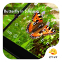 Butterfly In Green Summer icon