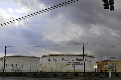 Incentive: Storage tanks inside the Exxon Mobil Baton Rouge Refinery in Louisiana, US. The government of Guyana says it will honour the terms of its deal with Exxon. Picture: REUTERS