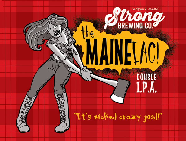 Logo of Strong The Maineiac