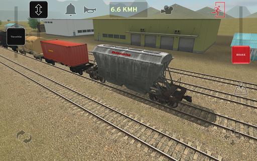 Train and rail yard simulator 1.0.3 screenshots 18