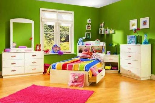 卧室绘画色彩理念