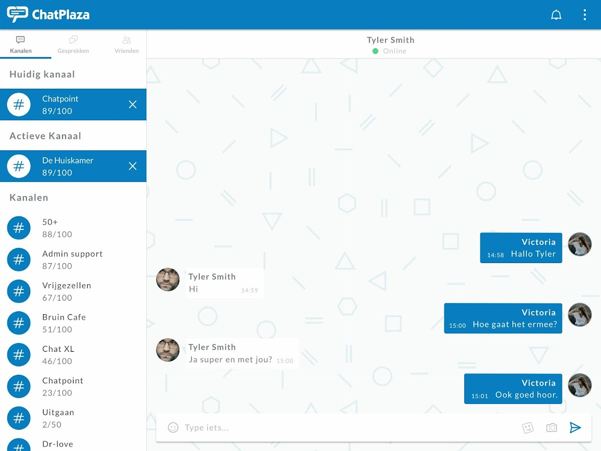 ChatPlaza- screenshot