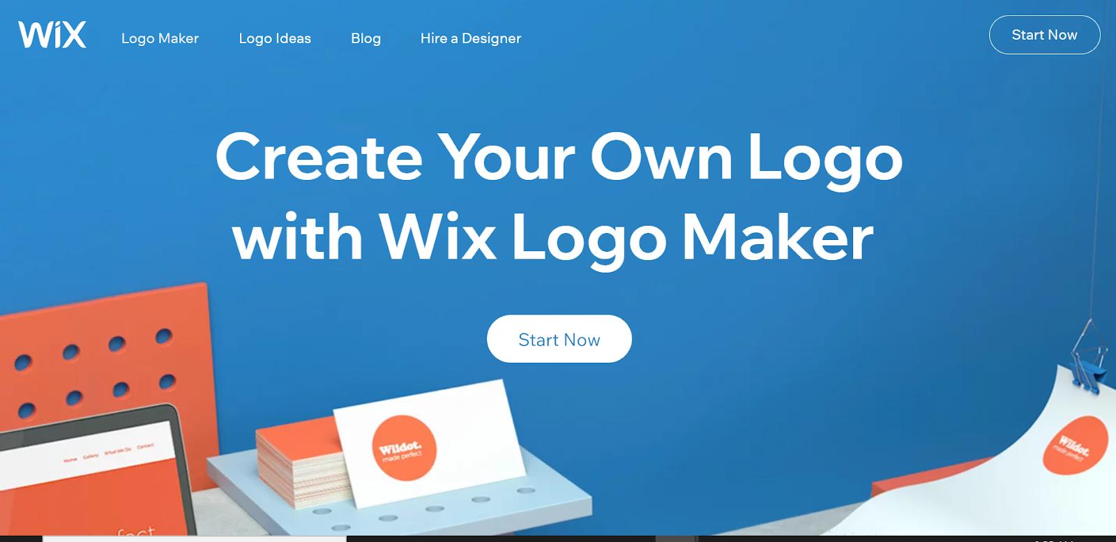 how to make logo for website