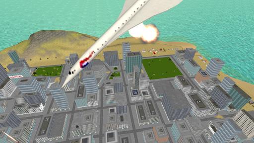 Flying Police Motorcycle Rider screenshot 4