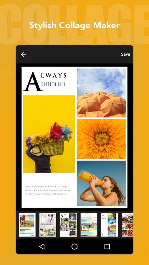 Fotor Photo Editor - Photo Collage & Photo Effects Screenshot 1