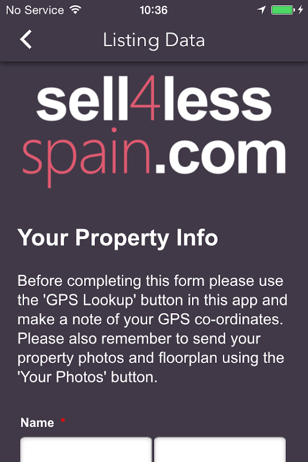 Sell4LessSpain.com- screenshot